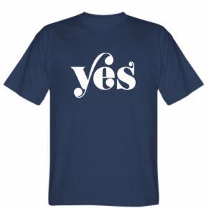 Koszulka YES