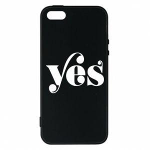 Etui na iPhone 5/5S/SE YES