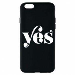 Etui na iPhone 6/6S YES
