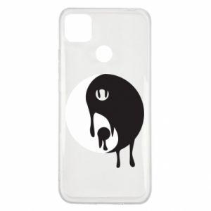 Etui na Xiaomi Redmi 9c Yin-Yang smudges