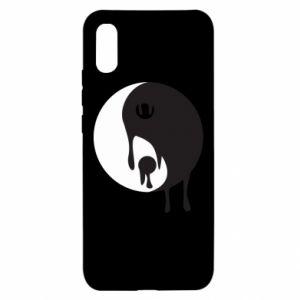 Etui na Xiaomi Redmi 9a Yin-Yang smudges