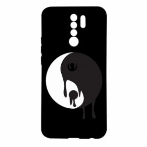 Etui na Xiaomi Redmi 9 Yin-Yang smudges