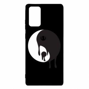 Etui na Samsung Note 20 Yin-Yang smudges
