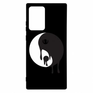 Etui na Samsung Note 20 Ultra Yin-Yang smudges