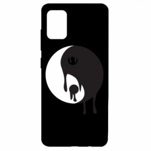 Etui na Samsung A51 Yin-Yang smudges