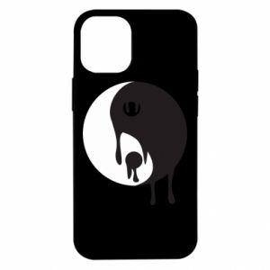 Etui na iPhone 12 Mini Yin-Yang smudges