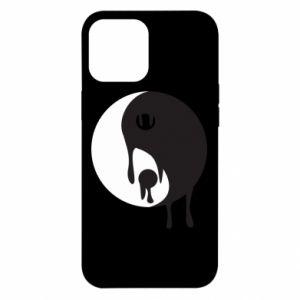 Etui na iPhone 12 Pro Max Yin-Yang smudges