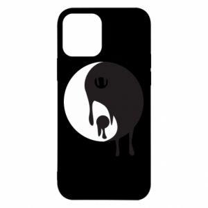 Etui na iPhone 12/12 Pro Yin-Yang smudges