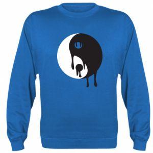 Sweatshirt Yin-Yang smudges - PrintSalon
