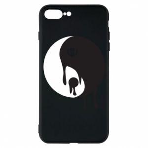 Phone case for iPhone 7 Plus Yin-Yang smudges - PrintSalon