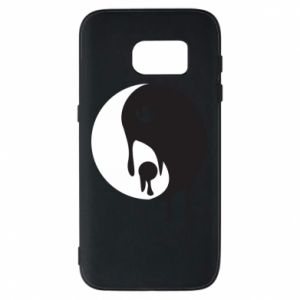 Phone case for Samsung S7 Yin-Yang smudges - PrintSalon