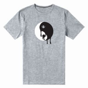 Men's premium t-shirt Yin-Yang smudges - PrintSalon