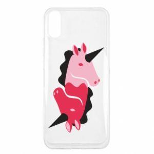 Etui na Xiaomi Redmi 9a Yin-Yang Unicorns