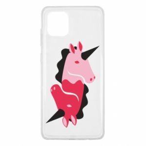 Etui na Samsung Note 10 Lite Yin-Yang Unicorns