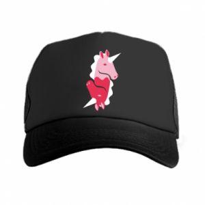 Czapka trucker Yin-Yang Unicorns