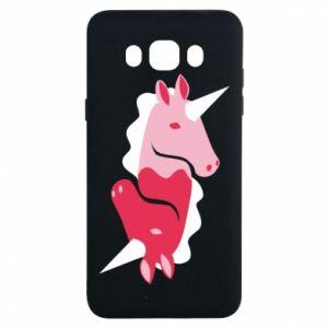 Etui na Samsung J7 2016 Yin-Yang Unicorns