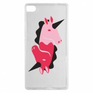 Etui na Huawei P8 Yin-Yang Unicorns