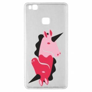 Etui na Huawei P9 Lite Yin-Yang Unicorns