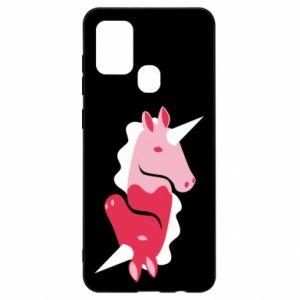 Etui na Samsung A21s Yin-Yang Unicorns