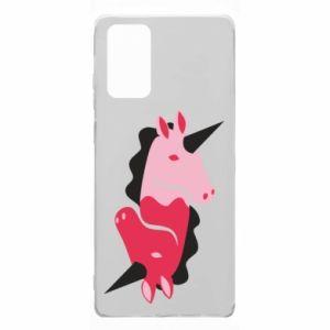 Etui na Samsung Note 20 Yin-Yang Unicorns