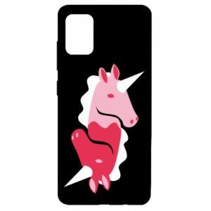 Etui na Samsung A51 Yin-Yang Unicorns
