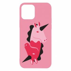 Etui na iPhone 12/12 Pro Yin-Yang Unicorns