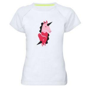 Koszulka sportowa damska Yin-Yang Unicorns