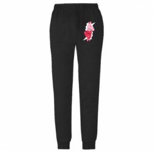 Spodnie lekkie męskie Yin-Yang Unicorns