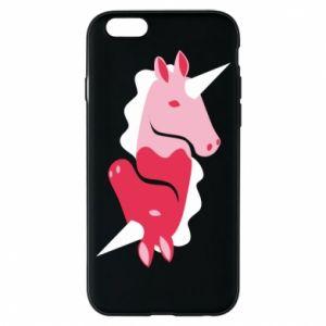 Etui na iPhone 6/6S Yin-Yang Unicorns