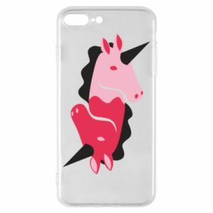 Etui na iPhone 8 Plus Yin-Yang Unicorns