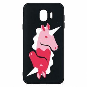 Etui na Samsung J4 Yin-Yang Unicorns