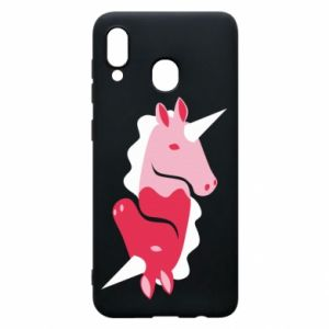 Etui na Samsung A30 Yin-Yang Unicorns