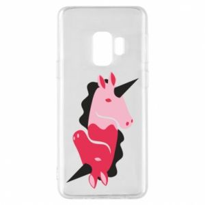 Etui na Samsung S9 Yin-Yang Unicorns