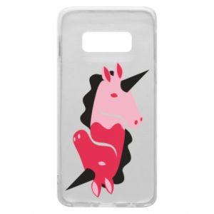 Etui na Samsung S10e Yin-Yang Unicorns