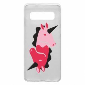 Etui na Samsung S10 Yin-Yang Unicorns