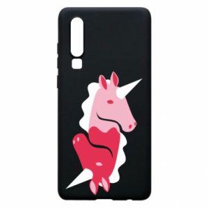 Etui na Huawei P30 Yin-Yang Unicorns