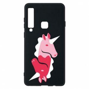 Etui na Samsung A9 2018 Yin-Yang Unicorns