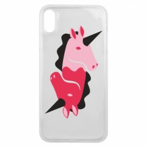 Etui na iPhone Xs Max Yin-Yang Unicorns