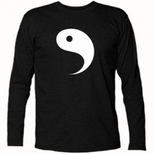 Long Sleeve T-shirt Yin - PrintSalon