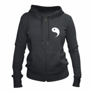 Women's zip up hoodies Yin - PrintSalon