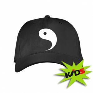 Dziecięca czapeczka z daszkiem Yin