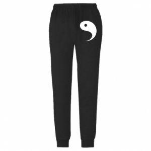Męskie spodnie lekkie Yin