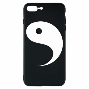 Phone case for iPhone 8 Plus Yin - PrintSalon