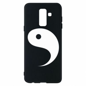 Phone case for Samsung A6+ 2018 Yin - PrintSalon