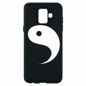 Phone case for Samsung A6 2018 Yin - PrintSalon