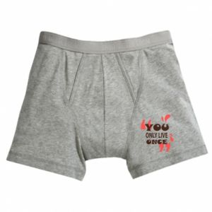 Boxer trunks YOLO