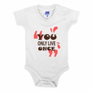 Body dla dzieci YOLO - PrintSalon