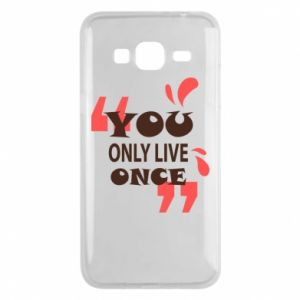 Phone case for Samsung J3 2016 YOLO