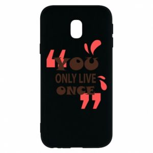 Phone case for Samsung J3 2017 YOLO
