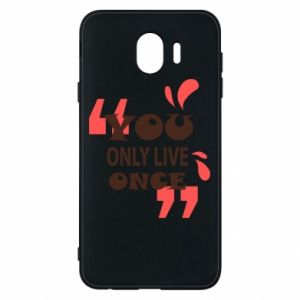 Phone case for Samsung J4 YOLO